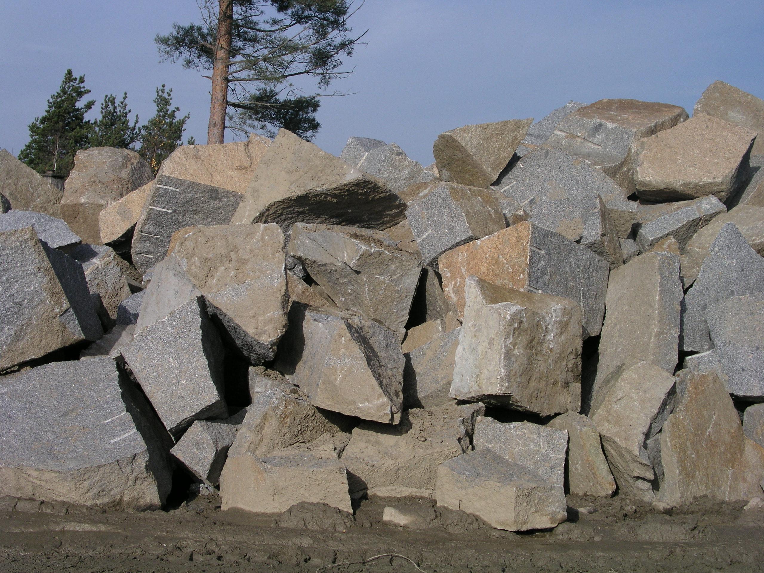 Stavební kámen cena